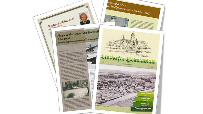 Lisdorfer Heimatblatt Nr. 30 ist da. (Foto: Georg Jungmann)