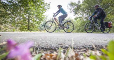 Mit dem Fahrrad rund um das Saarland. (Foto: Eike Dubois)