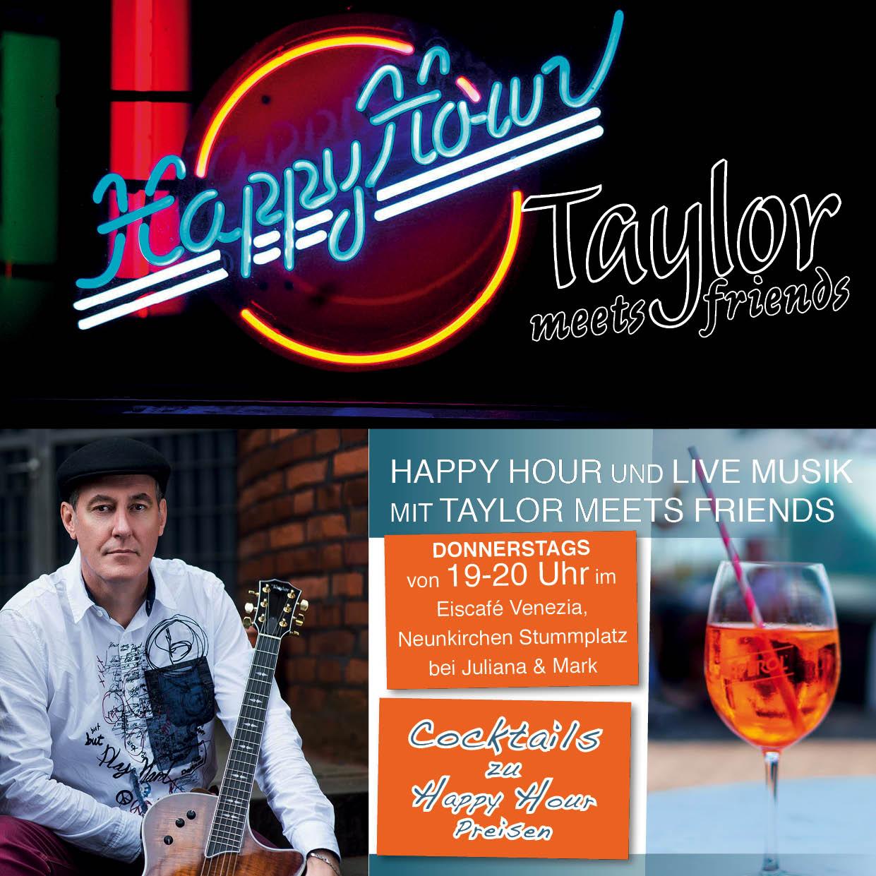 Happy Hour mit Live Musik @ Eiscafé Venezia