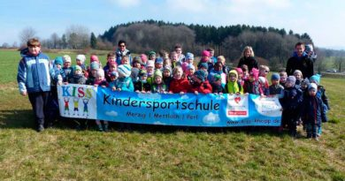 Osterwanderung der Kindersportschule KISS